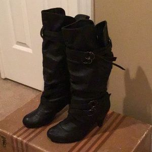 CA Collection Black Boots